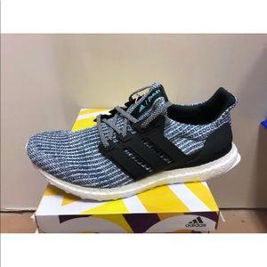 Adidas UltraBOOST Parley BC0248 Blue Black Mens